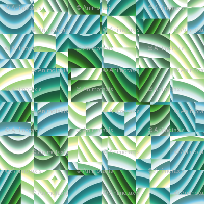Ribbon Mosaic 7