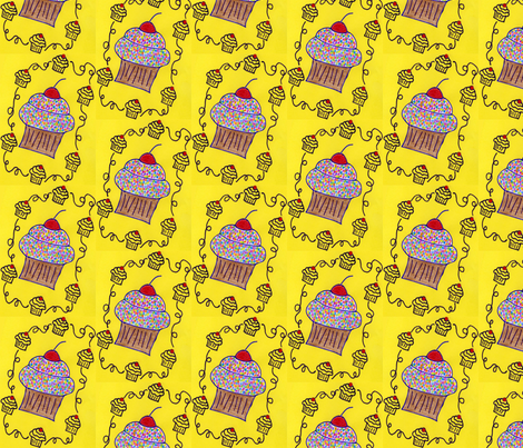 cupcake delight fabric by joey26tx on Spoonflower - custom fabric