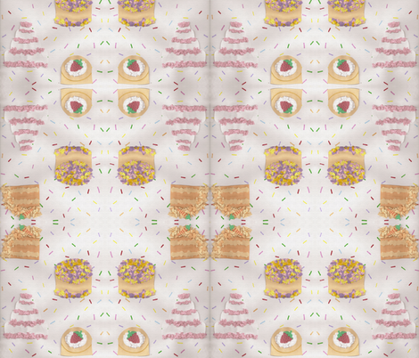 paper_cakes fabric by fraulein_doll on Spoonflower - custom fabric