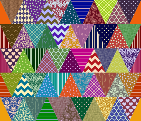 Sixty flags fabric by spacefem on Spoonflower - custom fabric