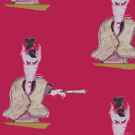 fox fabric by theiowafarmgirl on Spoonflower - custom fabric