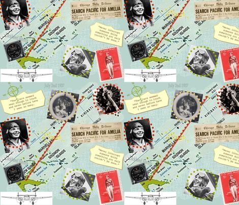 amelia fabric by roxiespeople on Spoonflower - custom fabric