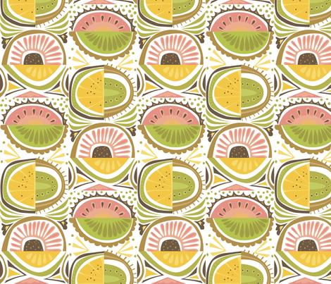 peach_stack fabric by antoniamanda on Spoonflower - custom fabric