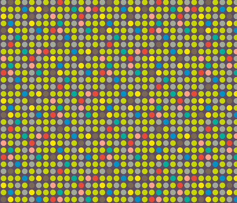 Game Dots Green fabric by modgeek on Spoonflower - custom fabric