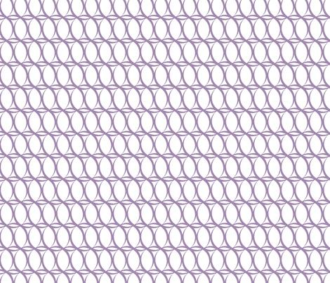 Loopy_Lavender fabric by fridabarlow on Spoonflower - custom fabric
