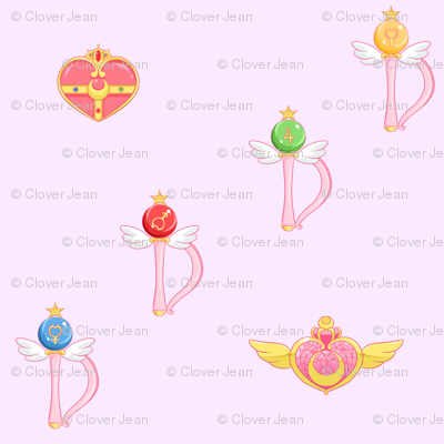 Sailor Moon Transformation Items