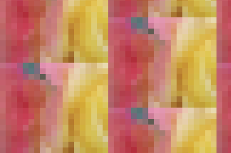 Ombre Rose Mosaic fabric by colormusing on Spoonflower - custom fabric