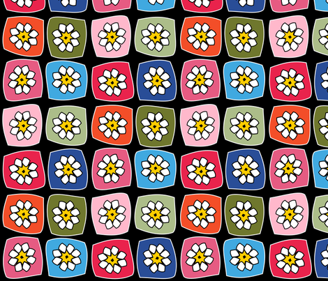 Granny Square Afghan fabric by heathermann on Spoonflower - custom fabric