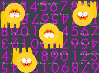 Violet Lion Numbers