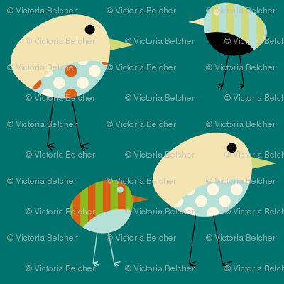 Fabric Birds - Harper