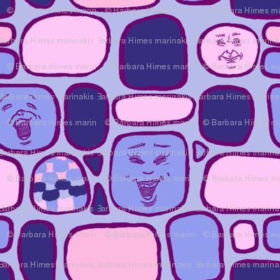 Happy Faces #1: Round Squares