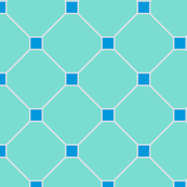 floor tiles - turquoise blue