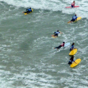 Surf School Students - Biarritz, France
