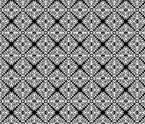 Zebra Tiles fabric by meaganrogers on Spoonflower - custom fabric