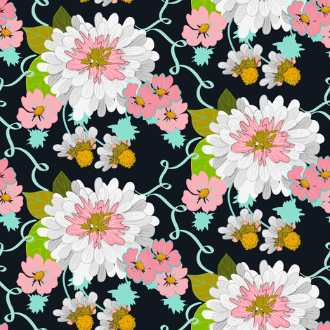 In_the_Pink fabric by lana_gordon_rast_ on Spoonflower - custom fabric