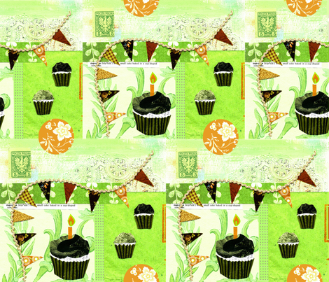 PattysPartyCupcaks fabric by catail_designs on Spoonflower - custom fabric
