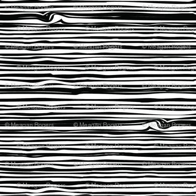 Woodgrain Black and White