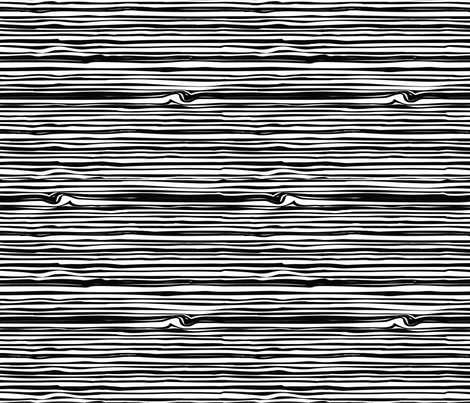 Woodgrain Black and White fabric by meaganrogers on Spoonflower - custom fabric