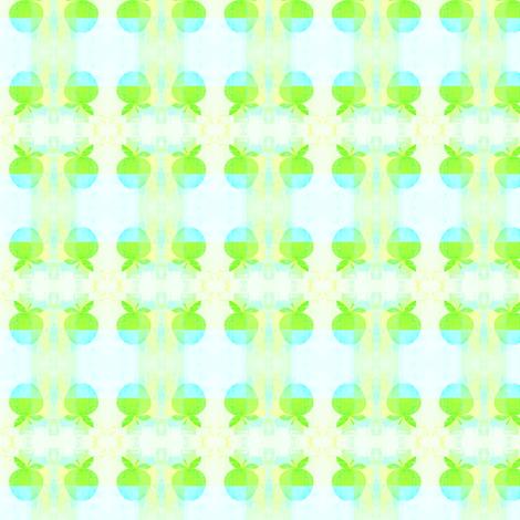 Green_apple by evandecraats July 7, 2012 fabric by _vandecraats on Spoonflower - custom fabric