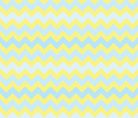 fun-with-chevrons-sun-sky fabric by owlandchickadee on Spoonflower - custom fabric