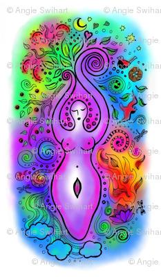 Vibrant Goddess