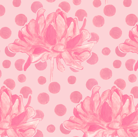 Kristi - Silhouette fabric by katrinazerilli on Spoonflower - custom fabric