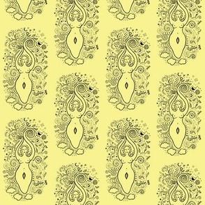 Goddess in Yellow