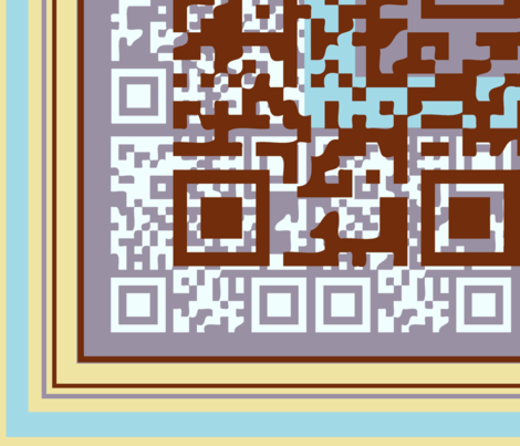 Scan This fabric by genebrown on Spoonflower - custom fabric