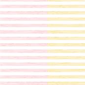 music score stripe - cherry mustard