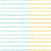 music score stripes - mint mustard