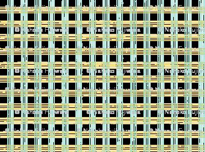 music score plaid - mint mustard