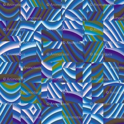 Ribbon Mosaic 16