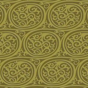 Curlyswirl (olive)