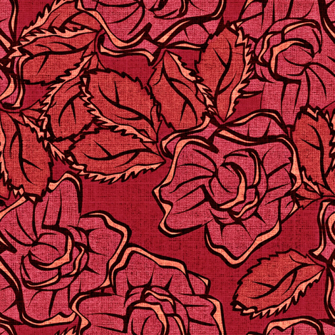 50s_Floral - Salem Stunners fabric by glimmericks on Spoonflower - custom fabric