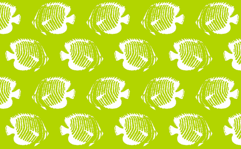 Kiwi Tango fabric by lulabelle on Spoonflower - custom fabric