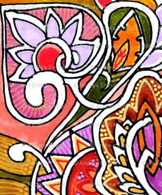 Orange Heartflower Seranade