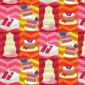 Cakes - Chevron