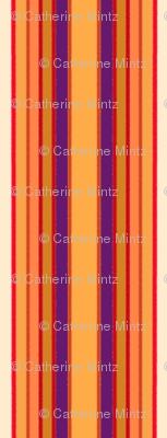 Autumn Crayon Stripe