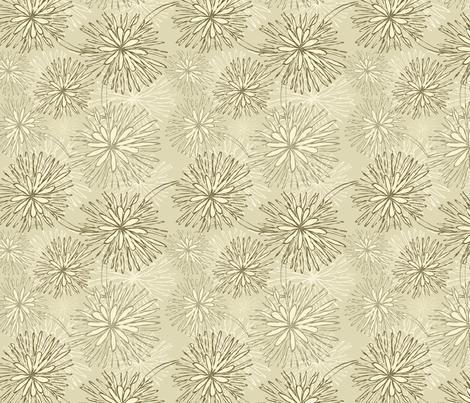 flowers pattern fabric by anastasiia-ku on Spoonflower - custom fabric