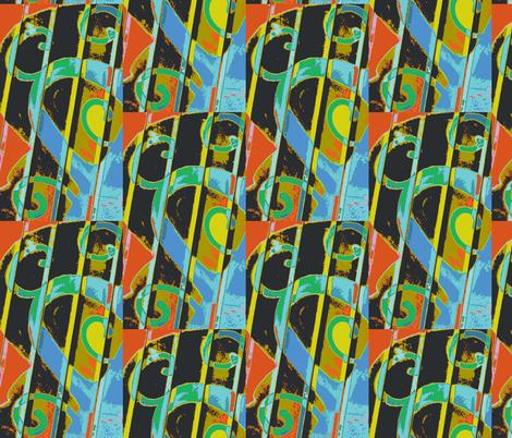 Alice in Kandinskyland fabric by susaninparis on Spoonflower - custom fabric