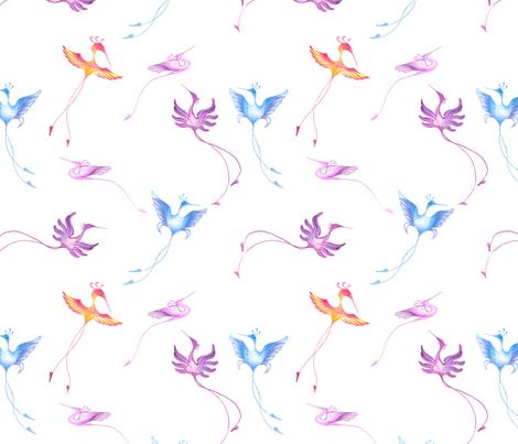 Ditsy print - El Nuevo Reino de Granada fabric by dna2011 on Spoonflower - custom fabric