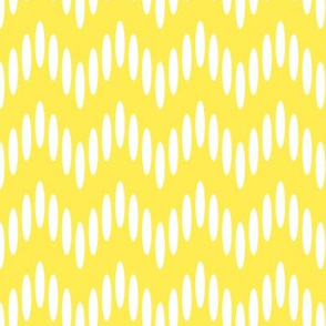 like a chevron - yellow