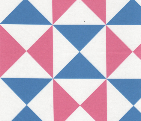 yankee puzzle - blue pink