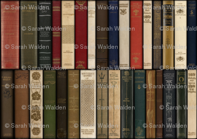Madame Fancypantaloons' Instant Library Bindings