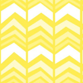 deconstructed chevron - yellow