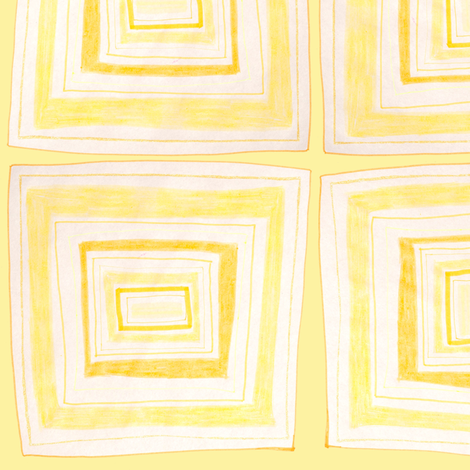 CCC Yellow fabric by queeninmyownmind on Spoonflower - custom fabric
