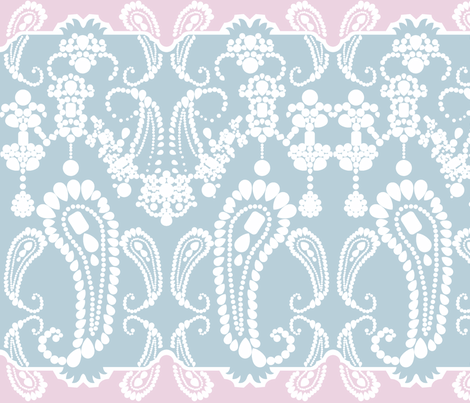 Jewel Paisley fabric by janelle_wooten on Spoonflower - custom fabric