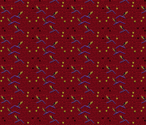 Olympic Torch fabric by scoutmom131 on Spoonflower - custom fabric