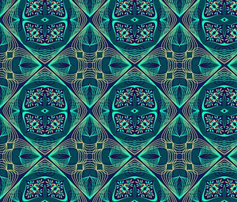 marzlene_beauty_2071-ed fabric by marzlene'z_eye_candy on Spoonflower - custom fabric