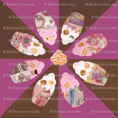 Magazine cupcakes